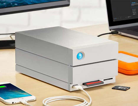Enterprise-Quality PC Drives - The LaCie 2big Dock Thunderbolt Drive Provides Exceptional Usage