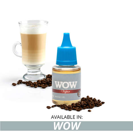 Cappuccino Vape Juices - These New E Juices from Vapor4Life Have a Smooth Coffee Taste to Them