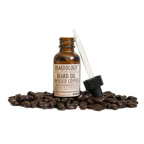 Caffeinated Beard Oils - Beardology's Coffee Beard Oil is Made with Just Brew Coffee Beans and Oil