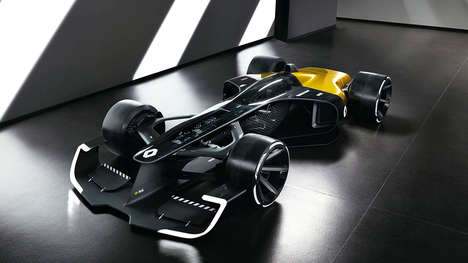 Ultra-light F1 Concept Cars - The Renault RS 2027 Vision is Debuting at Auto Shanghai