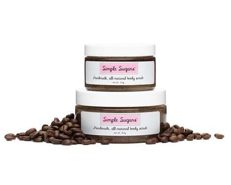 Energizing Coffee Body Scrubs - This Exfoliator from Simple Sugars Leaves Skin Feeling Silky Smooth