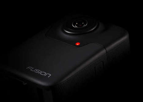 360-Degree Action Cams - The GoPro Fusion Camera Offers Resolution of Up to 5.2K
