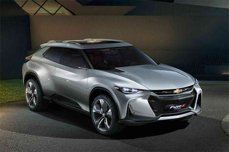 Sports Car-Inspired Crossovers - The Chevrolet FNR-X Crossover Concept is Exceptionally Styled