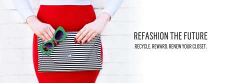 Rewarding Clothing Recycling Promotions - The 'Refashion the Future' Event Celebrates Earth Day 2017