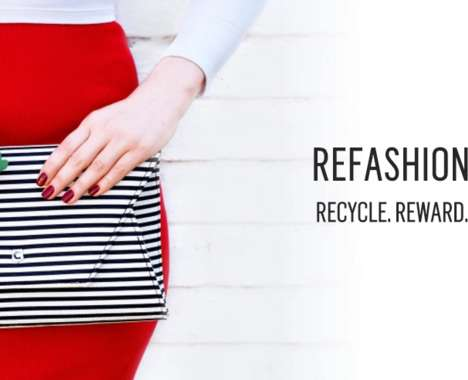 Rewarding Clothing Recycling Promotions