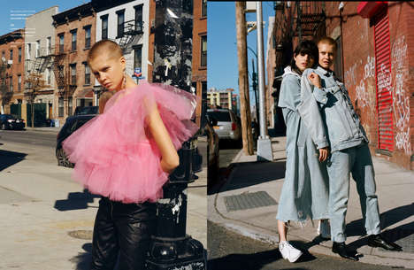 Alternative Street Style Portraits - The Ones 2 Watch 'Feel It' Series Highlights Punk-Themed Looks