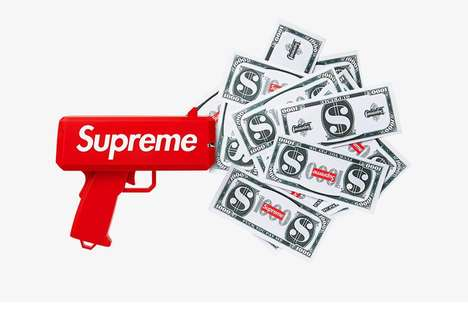Branded Money-Shooting Accessories - Supreme's CashCannon Shoots Money Into The Air
