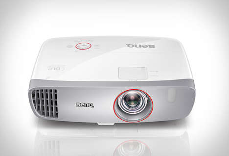 Responsive HD Gaming Projectors - The BenQ Gaming Projector Ensures a Lag-Free Image