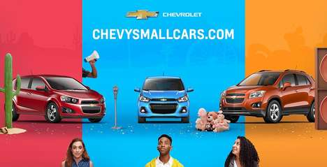 Car Company Webisodes - Chevrolet's 'Small Talk' Webisodes are Designed for Millennial Drivers