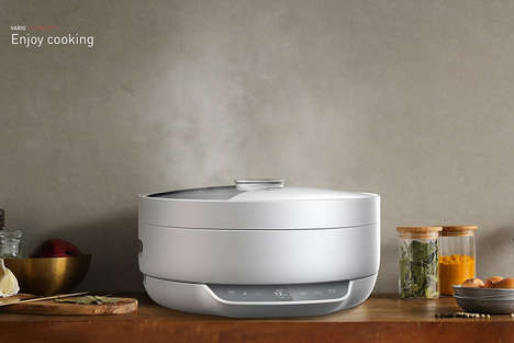 Multipurpose Kitchen Cookers - The 'Vario' Versatile Kitchen Appliance Cooks in Many Different Ways