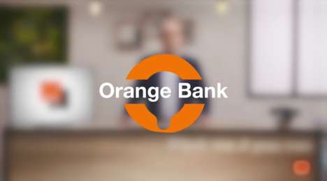 Mobile-Only Banks - Mobile Network Operator Orange is Now Launching 'Orange Bank'