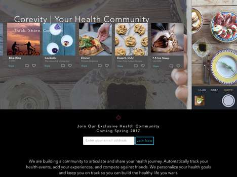 Millennial-Focused Health Platforms - 'Corevity' is an Online Health Community to Share Stories
