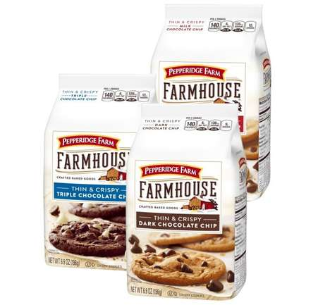 Homemade-Inspired Crispy Cookies - Pepperidge Farm Farmhouse Thin & Crispy Cookies are Simple