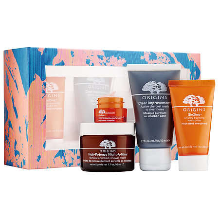 Refreshing Skincare Kits - Origins' New Limited-Edition Collection is Perfect for All Skin Types