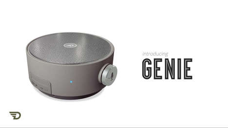 Voice Assistant Speakers - DreamWave Genie is a Voice Assistant Speaker with Bluetooth