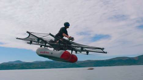 Aquatic Human-Sized Octocopters - Kitty Hawk is Google Co-founder Larry Page's Next Venture