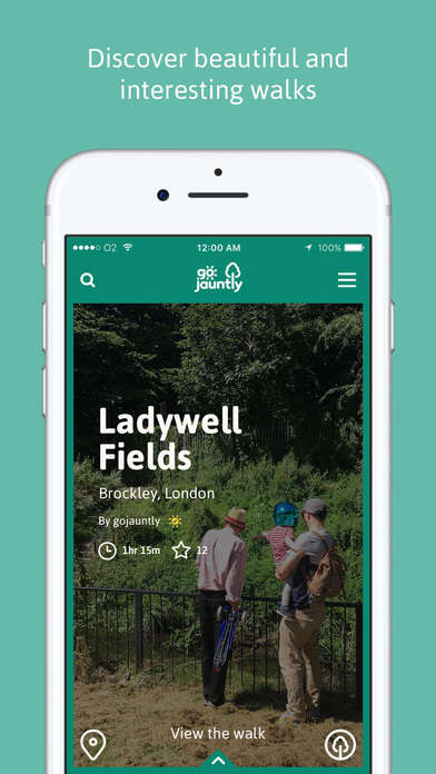 Crowdsourced Walking Routes - Go Jauntly Makes It Easier To Discover And Share Walking Paths
