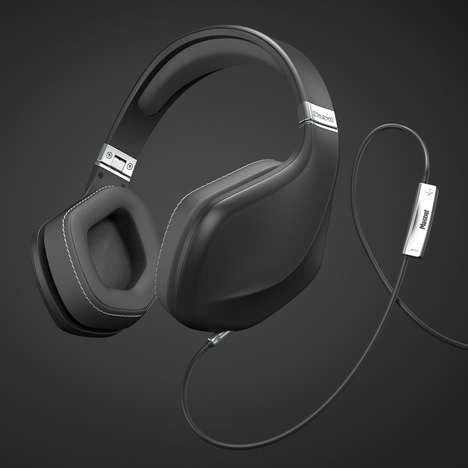 Automobile-Inspired Headphones - The Magnat LZR 980 Style Headphones are Designed by Pininfarina