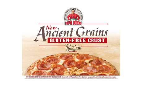 Ancient Grain Pizza Crusts - This Papa John's Gluten-Free Pizza Crust is Made with Healthy Grains