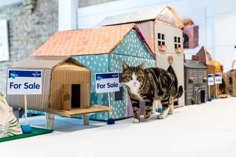 Pet Housing Pop-Ups - Blue Cross Created an Estate Agency to Help Animals Find Homes