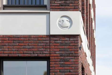 Architectural Emoji Decorations - Attika Architeckten Added Unique Grotesques to a Building
