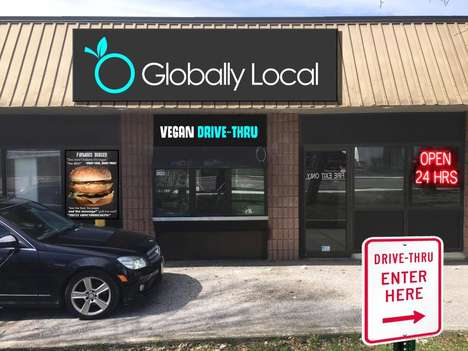 24-Hour Vegan Drive-Thrus - Globally Local is Launching a One-of-a-Kind Vegan Fast Food Restaurant