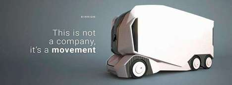 Semi-Autonomous Transport Pods - Einride's Vehicles of the Future Offer Autonomous & Remote Controls