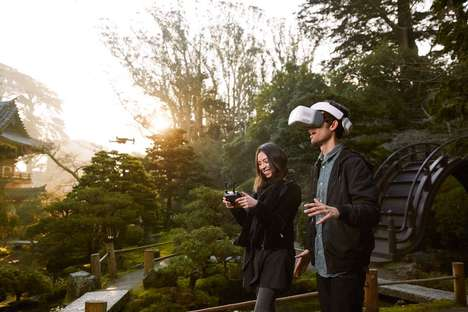 Drone-Controlling Headsets - The Newly Launched DJI Goggles Let You Fly a Drone with Your Head