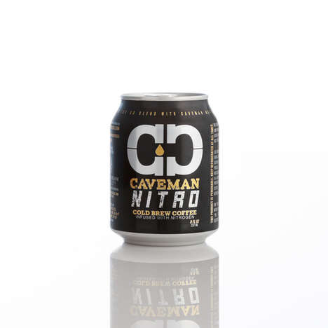 Small-Scale Cold Brew Cans - Caveman Coffee's Makes a Small Cold Brew Coffee