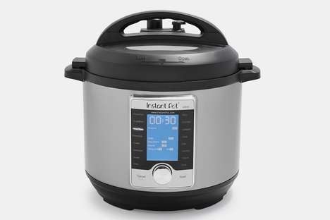 Ten-in-One Cooking Appliances - The Instant Pot Prepares Meals in a Variety of Different Ways