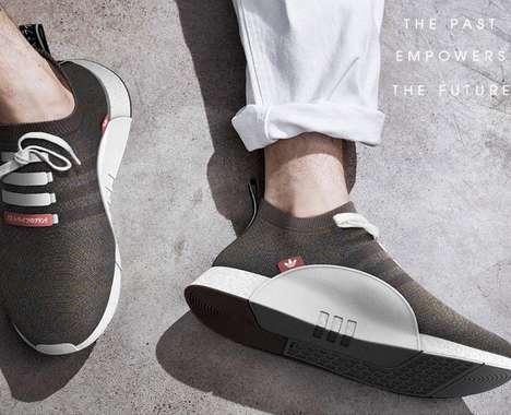 Ergonomic Sock-Inspired Sneakers