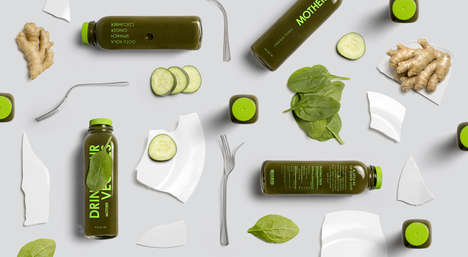 Isolated Micronutrient Vegetable Juices - Drink Your Veggies Offers a Healthy Alternative to Juices