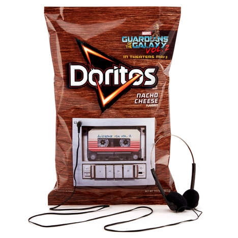 8-Track Chip Bags - The Doritos Guardians of the Galaxy Vol. 2 Bag Has a Functioning Music Player