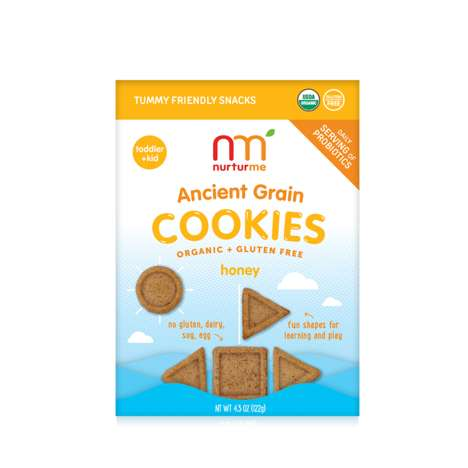 Super Grain-Infused Cookie Snacks - The NuturMe Ancient Grain Cookies are Packed with Probiotics