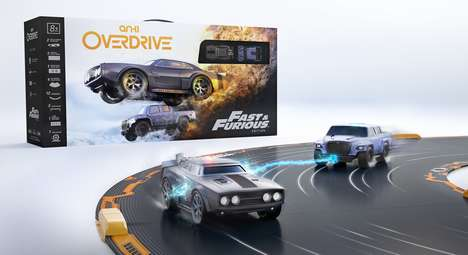 Action Movie Toy Cars - The Anki Overdrive: Fast & Furious Edition are Branded After the Film