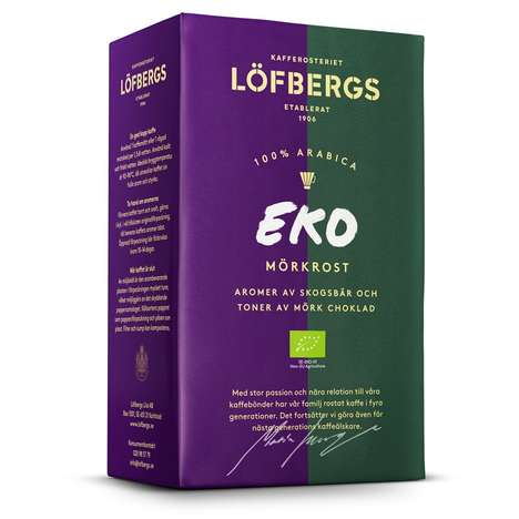 Sustainable Swedish Coffees - Löfbergs' EKO Mörkrost Blend is Organic and Ethically Sourced