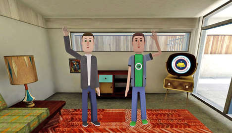 VR Stand-Up Comedy - AltspaceVR is Debuting a VR Show Called Comedy Living Room