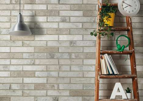 Deceptive Porcelain Bricks - Ceramica Rondine's Brick Generation Collection Looks Like Brick