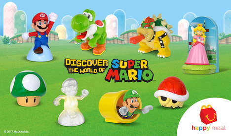 Special Edition Gamer Toys - The Super Mario Happy Meal Toys Celebrate Mario Kart 8 Deluxe