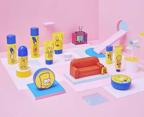 Cartoon Family-Inspired Skincare