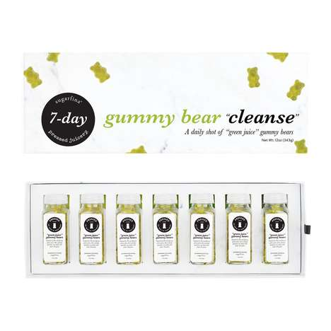 Gummy Bear Cleanses - Sugarfina's Seven-Day Cleanse Provides Daily Green Juice Shots in Gummy Form