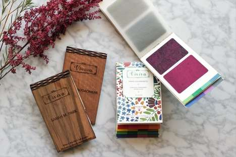 Paper-Thin Watercolor Palettes - 'Viviva Colorsheets' are Travel-Friendly Watercolor Paint Sets