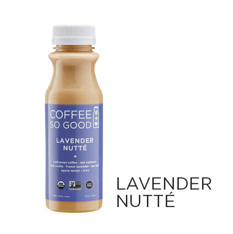 Blended Nut Beverages - With a Base of Cashews, 'Coffee So Good' Puts a Twist on Lattes and Coffee