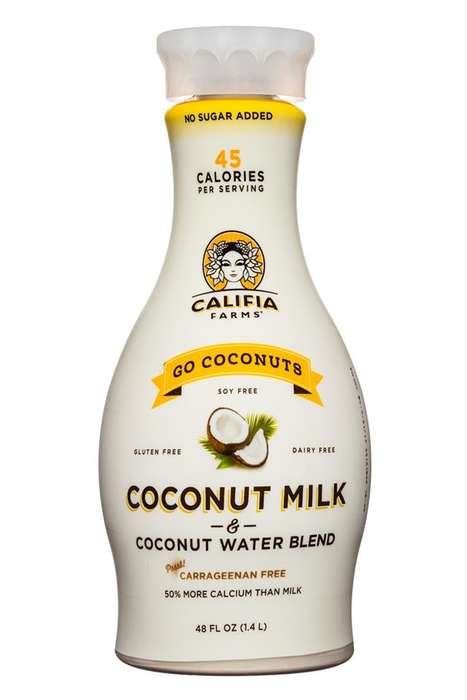 Hybrid Coconut Milks - Califia Farms' 'Go Coconuts' is a Blend of Coconut Milk and Water