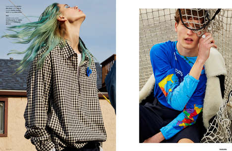 Rebellious Surfwear Editorials - 'The Last of the Beach Bums' Editorial Celebrates Oceanside Style