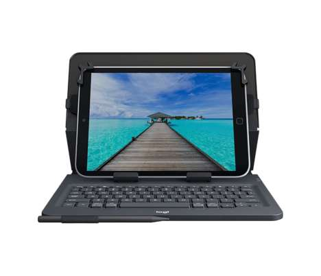 Omni Tablet Protectors - The Logitech Universal Folio Tablet Keyboard Case Fits Any Device Perfectly