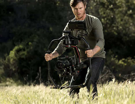 Hollywood-Quality Camera Rigs - The DJI Ronin 2 Performs Video Stabilization for Digital Producers