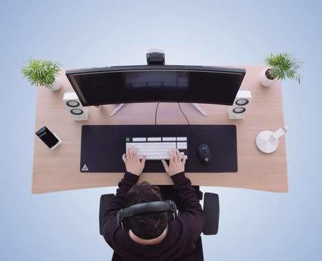 Collapsible Work Desk Designs