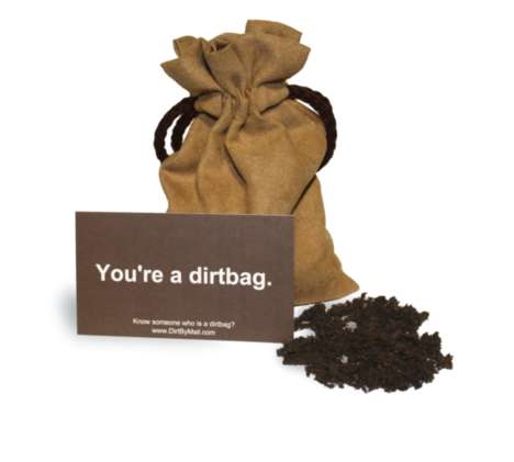 Insult-Sending Delivery Services - 'Dirt by Mail' Anonymously Sends a Bag of Dirt to Your Enemies