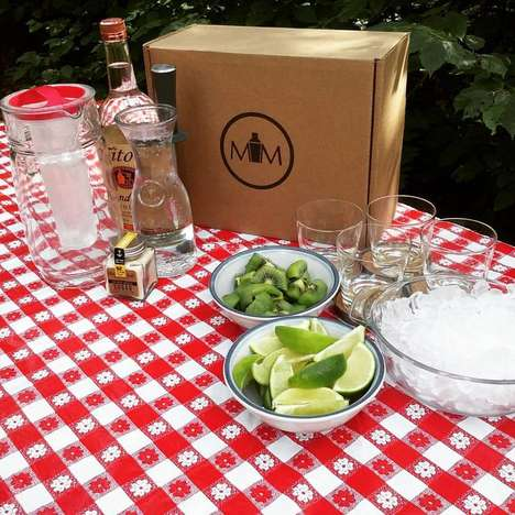 Mail Order Mixology Kits - Mixology Monthly Helps Consumers Make Craft Cocktails at Home